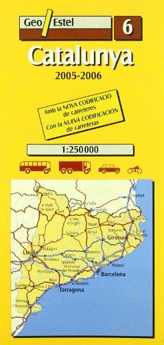 9788495788993: Catalunya (Mapas de carreteras. Comunidades autónomas y regio)