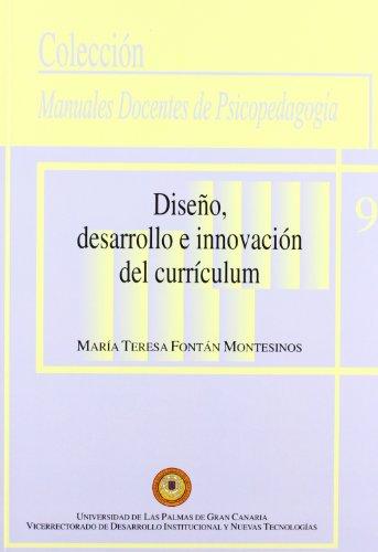 9788495792921: Diseño, desarrollo e innovación del currículum (Manual docente de teleformación de Psicopedagogía)