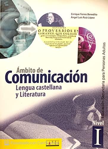 9788495803849: Ámbito de comunicación, lengua castellana y literatura, nivel I