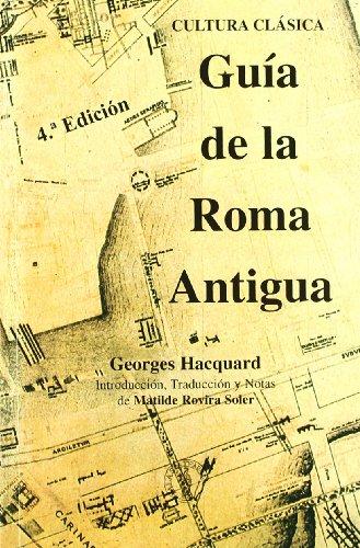 9788495855268: GUIA DE LA ROMA ANTIGUA 3ªED