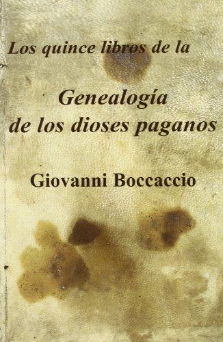 Genealogà a de los dioses paganos (Paperback): Giovanni Boccaccio