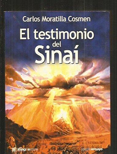 9788495882783: Testimonio del sinai, el