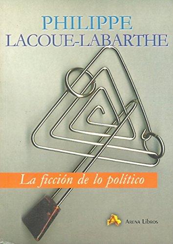9788495897046: La Ficción De Lo Político