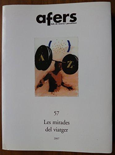 9788495916853: MIRADES DEL VIATGER (A57), LES