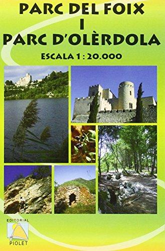 9788495945471: Parc del Foix i Parc d'Olèrdola : escala 1:20.000