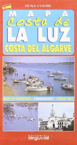 9788495948335: Mapa Costa de La Luz y Algarve (MAPAS TURISTICOS)