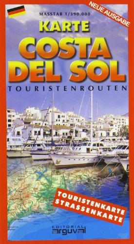 9788495948366: MAPA COSTA DEL SOL (Alemán) (MAPAS TURISTICOS)