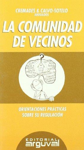 9788495948854: LA COMUNIDAD DE VECINOS (GUÍAS LEGALES)