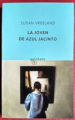9788495971739: La joven de azul jacinto (Quinteto Bolsillo)