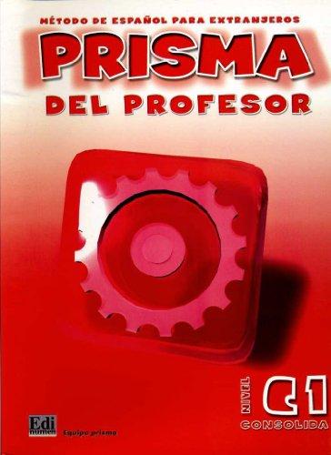 9788495986276: Prisma C1 Consolida - Libro del profesor