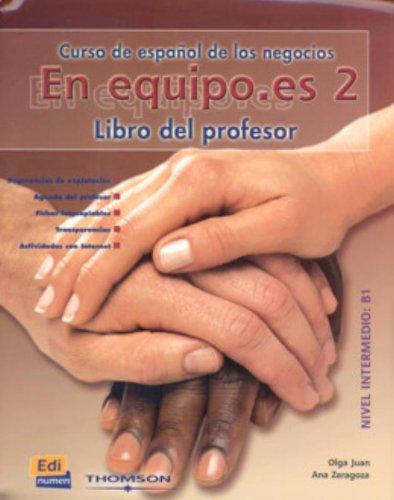 En equipo.es 2 - Libro del profesor: Zaragoza Andreu, Ana,