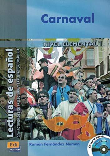 9788495986924: Carnaval - Libro + CD (Lecturas de español para jóvenes y adult)