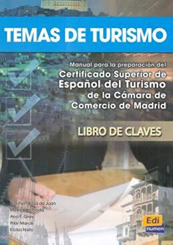 9788495986986: Temas de turismo Answer Key (Espanol Fines Especificos) (Spanish Edition)