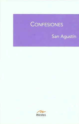 9788495994400: Confesiones/ Confessions (Biblioteca de filosofia/ Philosophy Library)