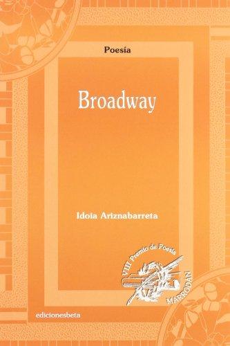9788496009516: Broadway (Poesía)