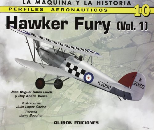 9788496016415: Hawker Fury, Vol. 1 (English and Spanish Edition)