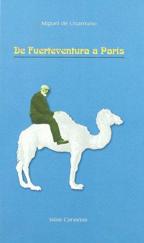 9788496017634: De Fuerteventura A Paris