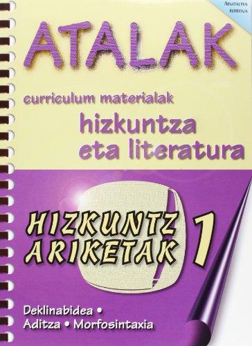 9788496024113: (1) Atalak - Hizkuntz Ariketak 1