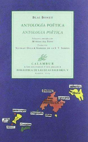 9788496049475: Antología poética (Los solitarios y sus amigos. Biblioteca de las Islas Baleares)