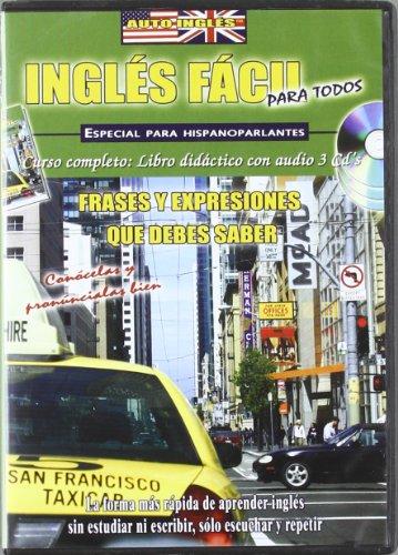 9788496060692: 3 Cd + Libro. Ingles Facil Para Todos. Frases y expresiones que debes saber
