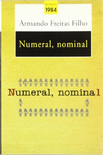 9788496061415: Numeral, nominal (Butxaca Antic Fons)