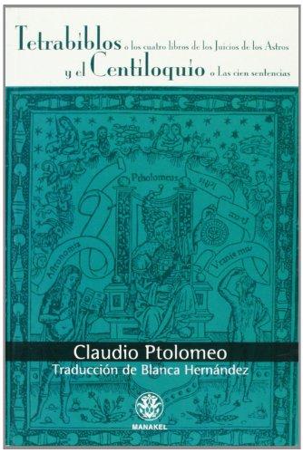 Imagen de archivo de Tetrabiblos y el centiloquio (Paperback) a la venta por The Book Depository EURO