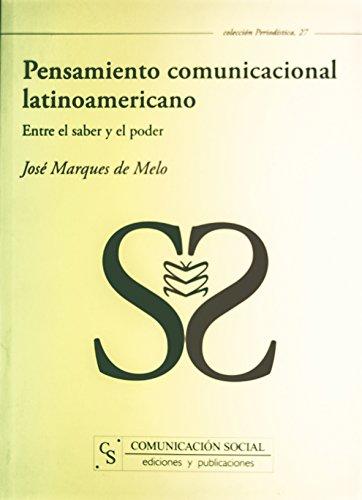 9788496082571: Pensamiento comunicacional latinoamericano (Spanish Edition)