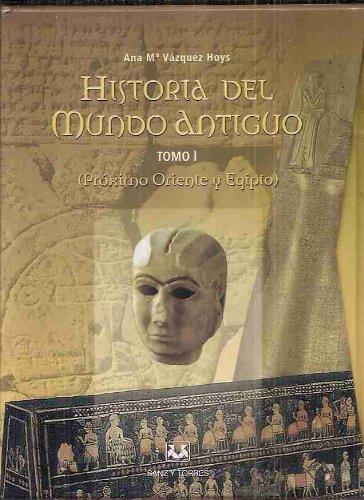 9788496094246: HISTORIA DEL MUNDO ANTIGUO. TOMO I. VOLUMEN I Y II: PROXIMO ORIENTE Y EGIPTO (2 TOMOS CON ESTUCHE)