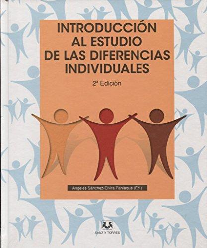 INTRODUCCION ESTUDIO DIFERENCIAS INDIVID: ANGELES SANCHEZ/ELVIRA PANIAGUA