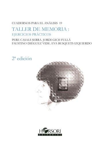9788496108318: Taller De Memoria (Cuadernos para el análisis)