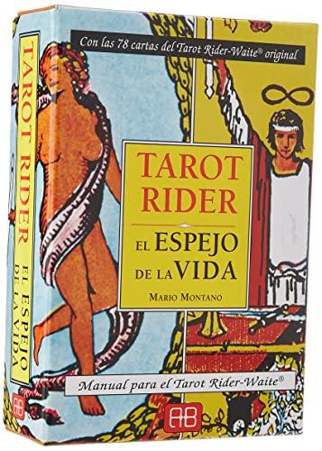 9788496111929: Tarot Rider El espejo de la vida / Rider Tarot Mirror of life: Manual para el Tarot Waite / Tarot Waite Manual