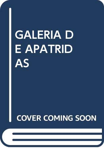 9788496114296: Galeria De Apatridas