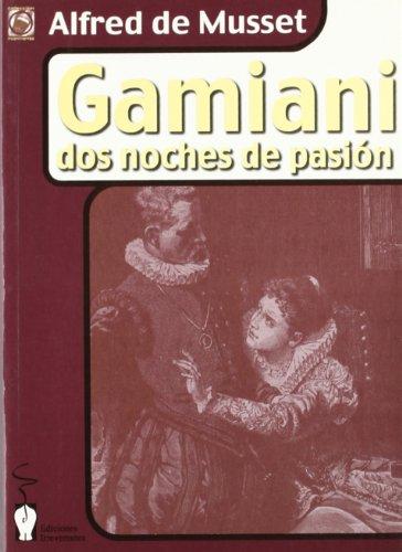 9788496115101: Gamiani: Dos noches de pasión (Incontinentes)