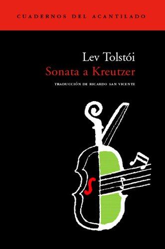 9788496136281: Sonata a Kreutzer (Cuadernos del Acantilado)