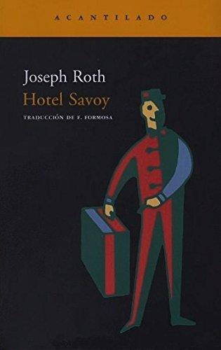 9788496136496: Hotel Savoy (Narrativa del Acantilado)