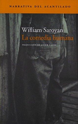 9788496136823: La Comedia Humana (Narrativa del Acantilado)