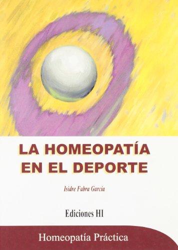 9788496148000: La homeopatía en el deporte