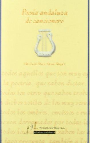 9788496152083: Poesia andaluza de cancionero