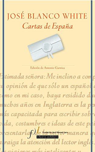 9788496152311: Cartas de España: Edición de Antonio Garnica