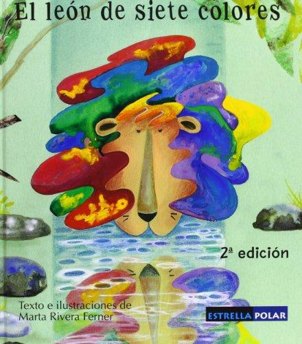 9788496154070: El león de siete colores (Estrella Polar)