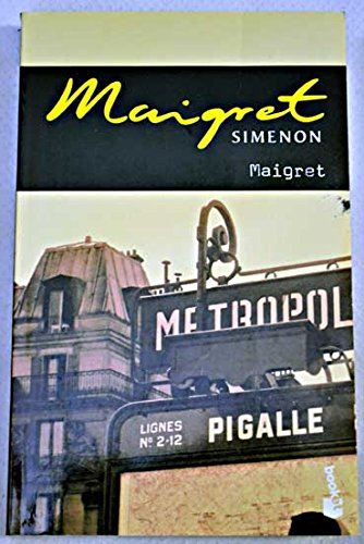 9788496171183: Maigret (Booket Logista)