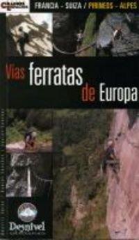 9788496192959: V�as ferratas de Europa