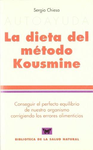 9788496194120: Dieta del metodo kousmine, la