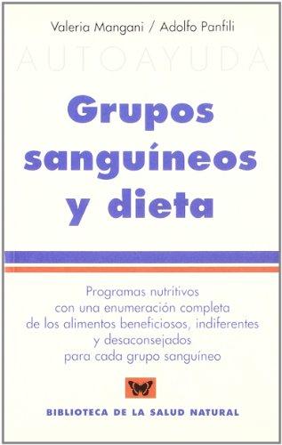 9788496194335: Grupos sanguíneos y dieta