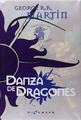 9788496208872: Canción de Hielo y Fuego 5. Danza de dragones. Edición especial