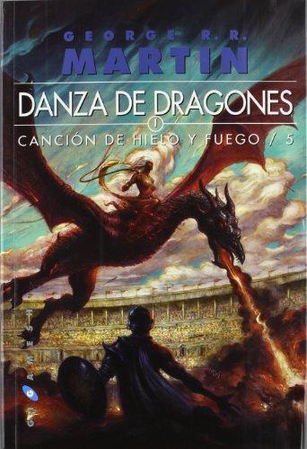 9788496208957: Canción de Hielo y Fuego 5. Danza de dragones