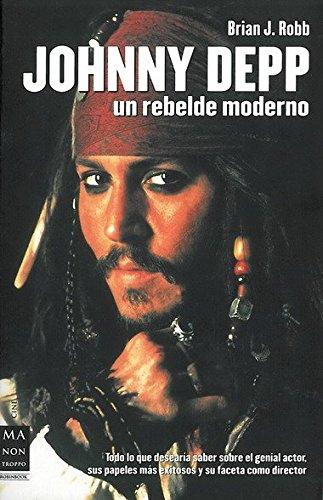 9788496222649: Johnny Depp: Un rebelde moderno