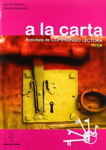 9788496248755: A La Carta -Cicle Mitja-