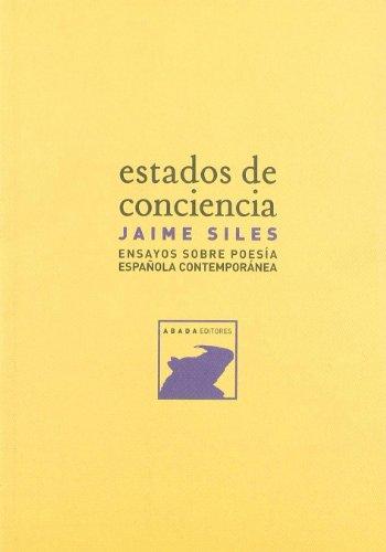 9788496258648: Estados De Conciencia Ensayos Sob (LECTURAS DE TEORÍA LITERARIA)