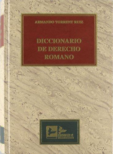9788496261136: Diccionario de derecho romano